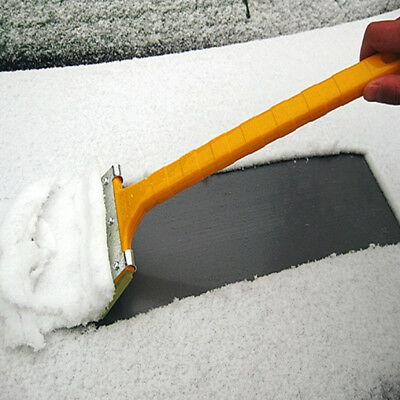 1Pc Car Window Windshield Cleaning Snow Removal Scraper Brushes Portable Shovel