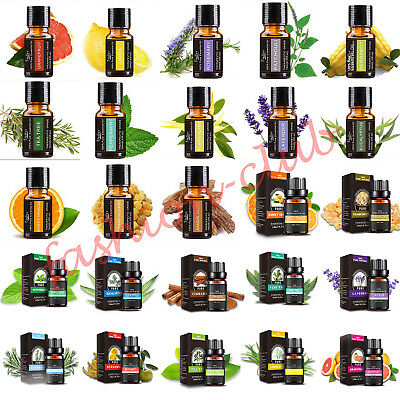 10ml Fragrant/Essential Oil Pure & Natural Aromatherapy For Diffuser 26 Style