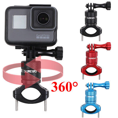 Bike Cycling Handlebar Bar Mount Adapter For GoPro HD Hero 7 6 5 Black Camera UK