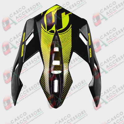 Frontino Origine Casco Cross  Just1 J34 Peak Shape Neon Yellow