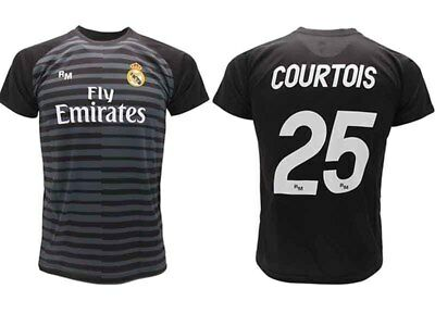 Shirt Courtois Real Madrid Official 2018 2019 goalkeeper Adult Child Thibaut