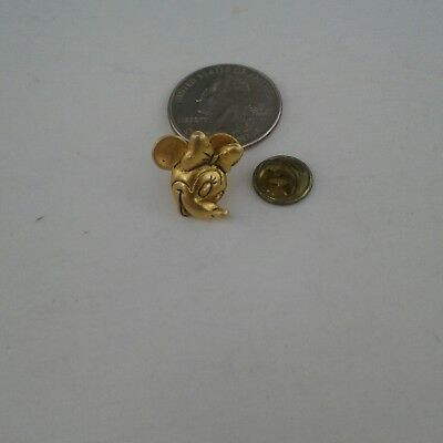 Disney vintage Minnie Mouse pin gold tone or brass