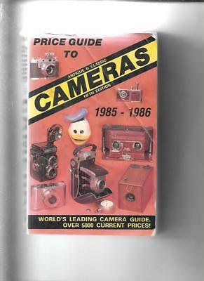 ANTIQUE CAMERA PRICE GUIDE by JAMES McKEOWN