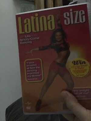 Lilia's Latina Size Strictly Come Dancing Dance Workout Fitness Dvd