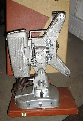 Movie Projector Vintage Keystone 8MM Movie Film Projector and Case