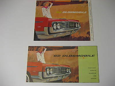 1962 Oldsmobile Sales Brochures...Lot of Two