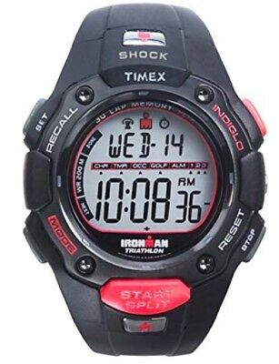 TIMEX Mens IRONMAN FLIX 30-lap Shock Resistant Running Watch T5F831 NEW