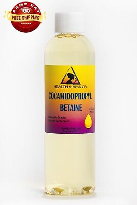 Cocamidopropyl Betaine Coco Betaine Natural Surfactant Liquid 100% Pure 4 Oz