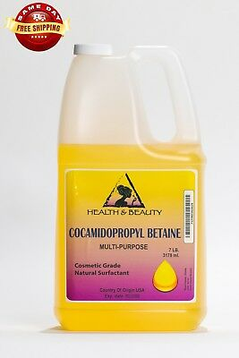 Cocamidopropyl Betaine Coco Betaine Natural Surfactant Liquid 100% Pure 7 Lb