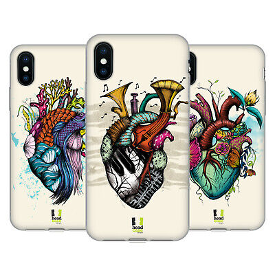 HEAD CASE DESIGNS HEART PERSONALITIES SOFT GEL CASE FOR APPLE iPHONE PHONES