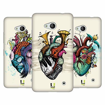 Head Case Designs Heart Personalities Soft Gel Case For Microsoft Phones