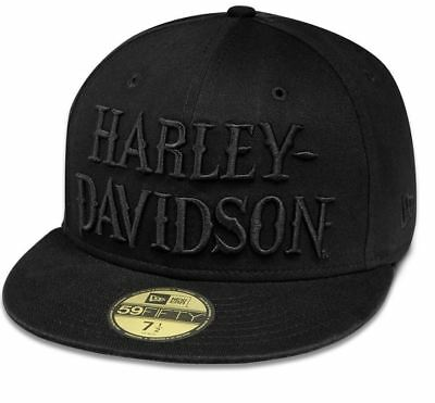 Brand New and Genuine Harley Davidson Men's Embroidered 59FIFTY Cap
