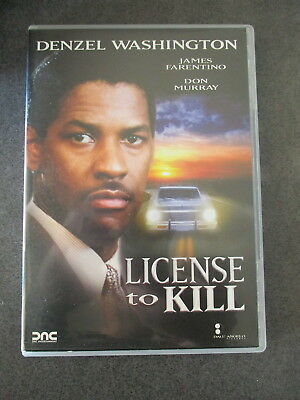 Denzel Washington License To Kill - Dvd