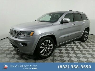2018 Jeep Grand Cherokee Overland Texas Direct Auto 2018 Overland Used 3.6L V6 24V Automatic 4WD SUV