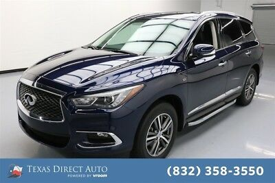 2017 Infiniti QX60  Texas Direct Auto 2017 Used 3.5L V6 24V Automatic AWD SUV Bose Premium