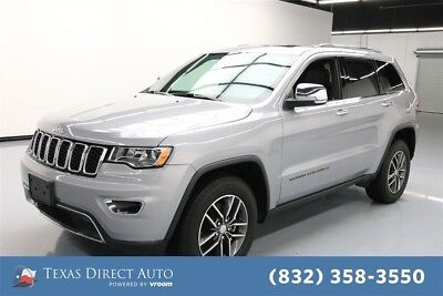2018 Jeep Grand Cherokee Limited Texas Direct Auto 2018 Limited Used 3.6L V6 24V Automatic 4WD SUV