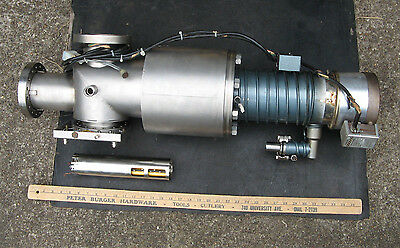 MDC HP MASS SPECTROMETER ION TRAP Chamber w/ E04 EDWARDS VACUUM DIFFUSION PUMP
