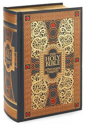 LEATHERBOUND HOLY GIFT BIBLE ILLUSTRATED by GUSTAVE DORE ~ KING JAMES EDITION