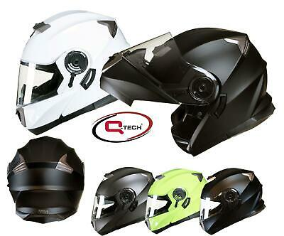 MODULAR Flip up Front Helmet DOUBLE Visor MOTORCYCLE Motorbike Colour CHOICE
