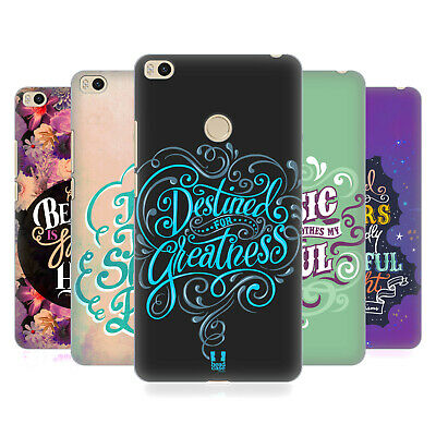 Head Case Designs Inspirational Typography Hard Back Case For Xiaomi Phones 2