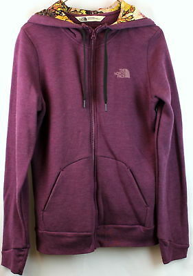 North Face Womens Renan Hoodie Purple Heather Size XL