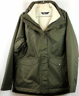 North Face Womens MERIWD Triclimate New Taupe Green Standard Fit Size L