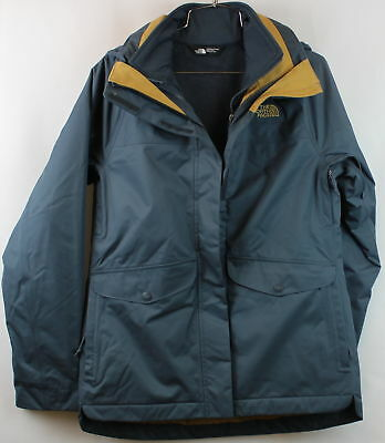 North Face Womens MERIWD Triclimate Ink Blue Standard Fit Size L