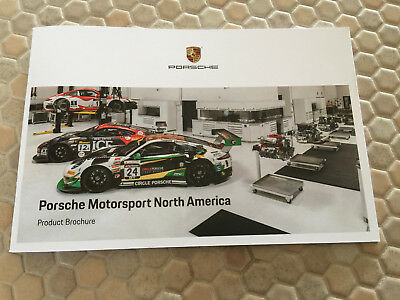 Porsche Official Motorsport Race Cars Sales Brochure Usa Edition For My 2019
