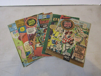 Bob's Big Boy Lot Of Comic Books