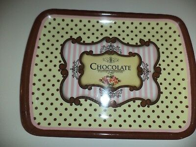 Three Chocolate Tip Trays