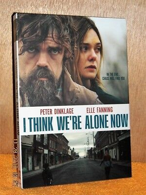 I Think We're Alone Now (DVD, 2018) NEW drama Peter Dinklage Elle Fanning