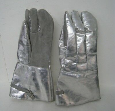 Aluminized Proximity Gloves Turnout Gear Firefighter Equipment Size Medium