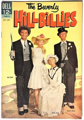 S339. THE BEVERLY HILLBILLIES #7 by Dell 5.5 FN- (1964) SILVER AGE, PHOTO Cover