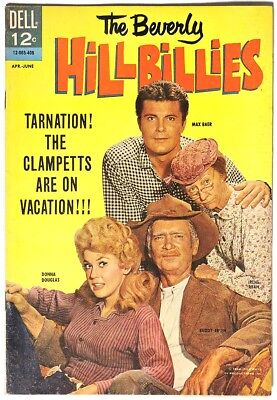 S338. THE BEVERLY HILLBILLIES #5 Dell 5.0 VG/FN (1964) SILVER AGE, PHOTO Cover