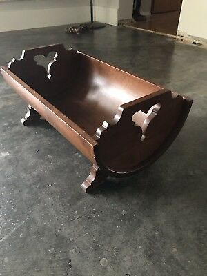 Tell City Chair Company Solid Hard Rock Maple Andover Magazine Cradle