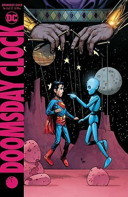 DC Doomsday Clock #8 Comic Book [Gary Frank Variant Cover]