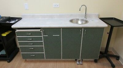 Hand Wash Sink with Cabinet