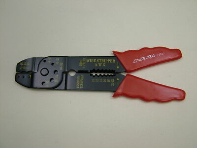 Crimping plier terminal crimper wire cutter stripper 195mm long, excellent price