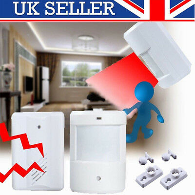 Alarm Restaurant Shop Door Entry Wireless Pir Motion Sensor Door Chime Door Bell