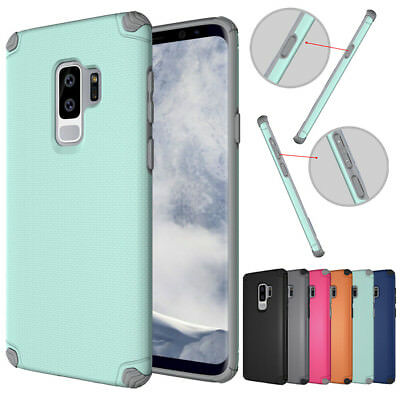 Hybrid Hard Armor Shockproof Cover Slim Rugged Case Fr Samsung Galaxy S9/S9 plus