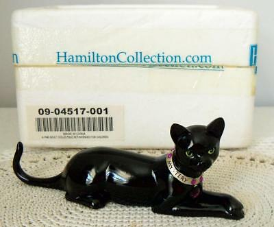 Hamilton Virtues of the Black Cat Collection~MYSTICAL MYSTERY~Swarovski~MIB