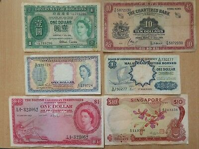 6 Old Banknotes - OLD etc...Good Buying ..Check this out / 3