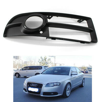 Right Bumper Lower Fog Light Lamp Grille Fit For AUDI A4 S-line B7 2005-2008