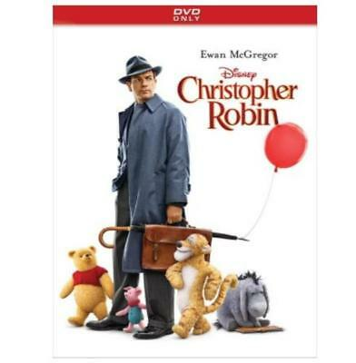 Brand New Christopher Robin (DVD 2018) Factory Sealed Free Shipping