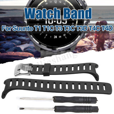 Replacement Watch Band Watch-strap For SUUNTO T1 T1C T3 T3C T3D T4C T Series