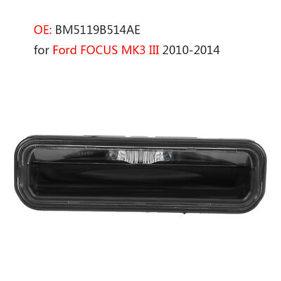 LED LICENSE PLATE LIGHT Tailgate Handle Switch for Ford FOCUS MK3 III 2010-2014
