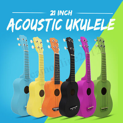 "21"" Entry-level Acoustic Guitar 4 String Ukulele Gift for Kids Music lovers"
