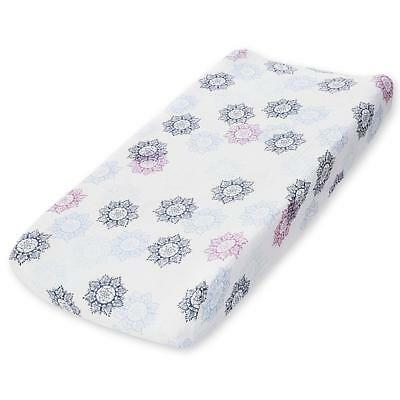 aden by aden + anais changing pad cover, pretty pink