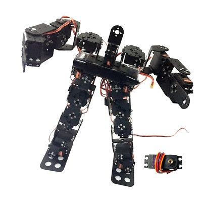 17-DOF Biped Humanoid Robot Kit with SR319 Digital Servos and Controller