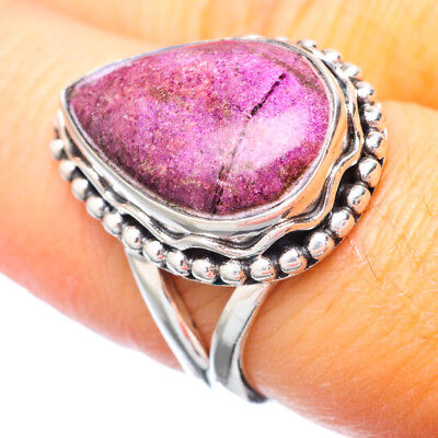 Sugilite 925 Sterling Silver Ring Size 7.75 Ana Co Jewelry R920468F